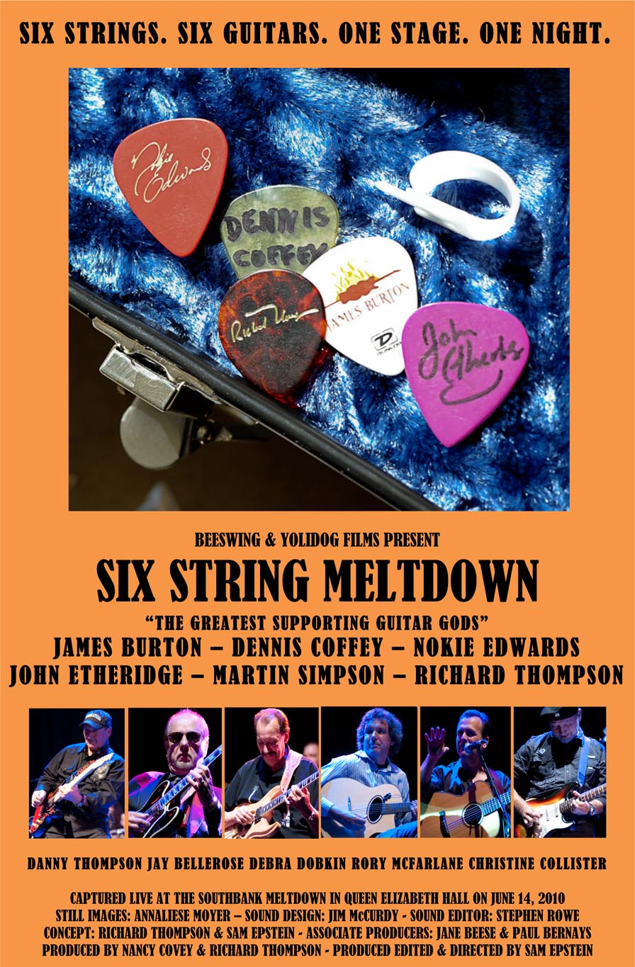 Six String Meltdown Beeswing and Yolidog Films Present